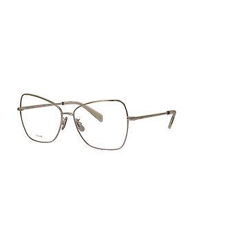 Celine CL50024U 016 Gafas brillantes de paladio