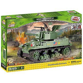 Small Army 345 piece M5A1 Stuart VI