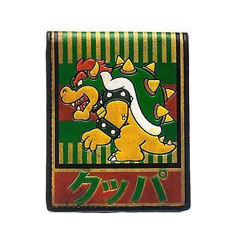 Super Mario Bowser Kanji Bi-Fold Wallet