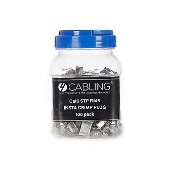 Cat6 Stp Rj45 Insta Crimp Plug 100 Pack