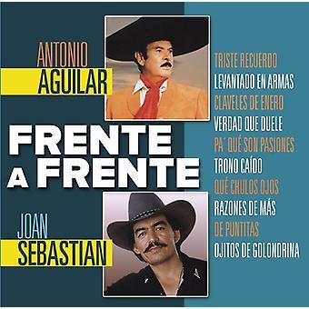Aguilar, Antonio / Sebastian, Joan - Frente a Frente [CD] USA import