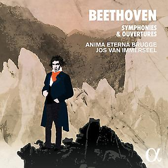 Beethoven / Schafer - Symphonies & Ouvertures [CD] USA import