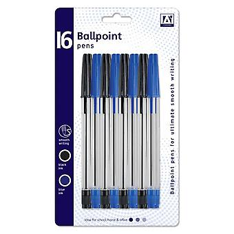 Anker Ballpoint Pens (Pack of 16)
