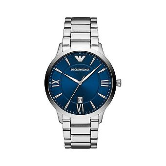 Armani Watches Ar11227 Mens Stainless Steel Blue Watch