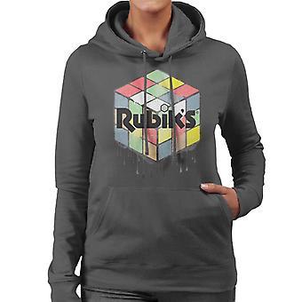 Rubiks urbana kub kvinnors Huvtröja