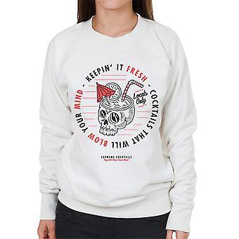 Teilen & erobern Supreme Cocktails Frauen's Sweatshirt