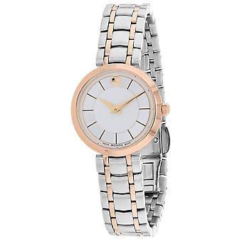 Movado Women's 1881 Quartz Silver Dial Watch - 607099