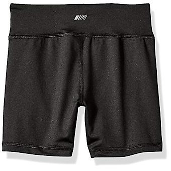 Essentials Big Girls' Stretch Active Short, Black, L