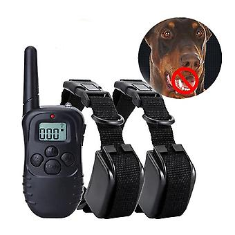 Electric Remote Control Dog Training Collar With Vibration Sound