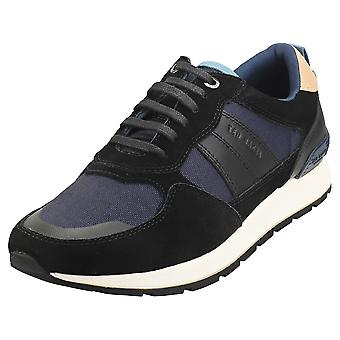Ted Baker Racetr Mens Fashion Trainers in Black