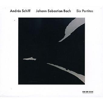 Andras Schiff - Johann Sebastian Bach: Six Partitas [CD] USA import