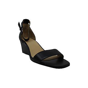 Naturalizer Women's Shoes Zenia Leather Open Toe Casual Platform Sandals