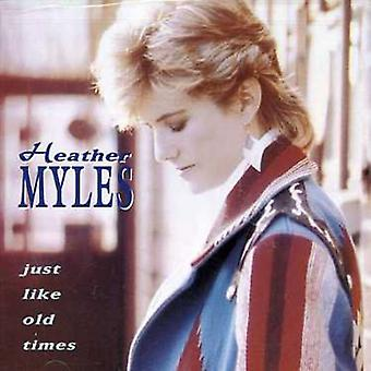 Heather Myles - Just Like Old Times [CD] USA import