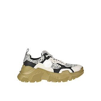 Moa Ezgl230016 Women's White Fabric Sneakers