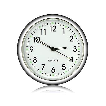 [Magnetic design] vst cl-002 car clock luminous mini automobiles internal digital watch mechanics quartz clocks gifts
