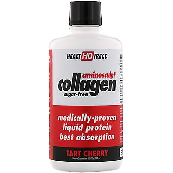 Health Direct, Amino Sculpt Collagen, Tart Cherry, 30 fl oz (887 ml)
