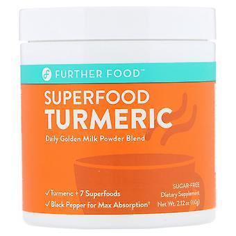 Further Food, Superfood Turmeric, 2.12 oz (60 g)