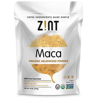 Zint, Maca, Organic Gelatinized Powder, 8 oz (227 g)