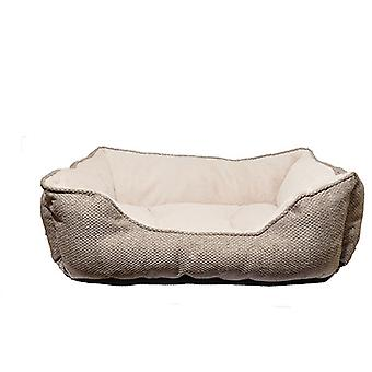 40 Winks Square Bed - Luxury Truffle - 61x46cm