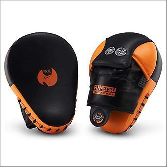 Fumetsu ghost focus mitts black/orange