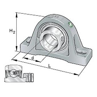 SKF FY 55 TF Y-Bearing Square Flanged Units 55mm Bore