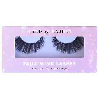 Land of Lashes Faux Mink Lashes - Stevie - The Signature to Your Masterpiece