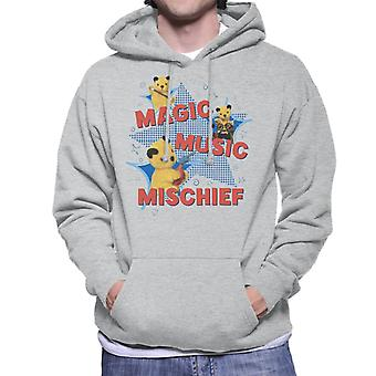Sooty Magic Music Mischief Men's Hooded Sweatshirt