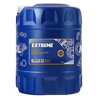 Mannol 10L Fully Synthetic Engine Oil Extreme 5W-40 SN/CH-4 Acea A3/B4 VW 502/505
