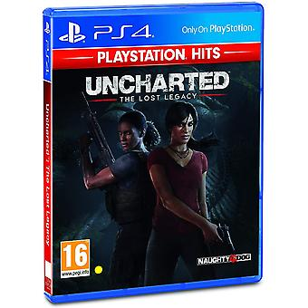 Uncharted The Lost Legacy PS4 Game (Playstation Hits Edition)