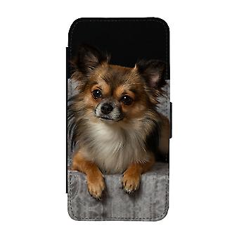 Long-haired Chihuahua Samsung Galaxy S9 Wallet Case