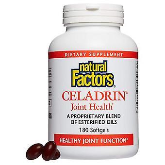 Natuurlijke factoren Celadrin Joint Health, 350 mg, 180 Softgels