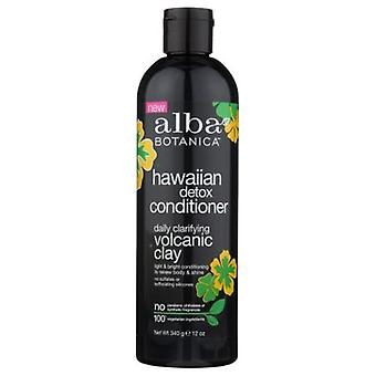 Alba Botanica Hawaiian Detox Conditioner, 12 Oz