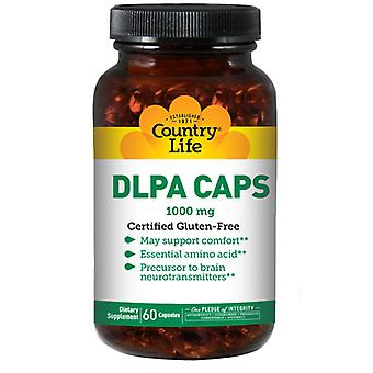 Country Life Dl-Phenylalanine, 1000 MG, 60 Caps