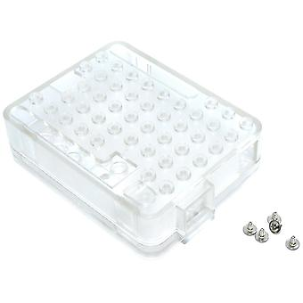 Transparent Clear Form Brick Case for Arduino UNO