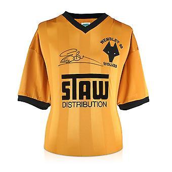 Steve Bull Signed Wolves 1988 Shirt