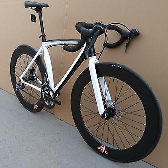 Brake Speed Integrated Road Bike, Speed Curved Handle Road Bicicleta Aluminum