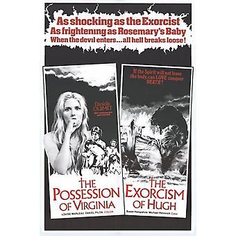 Besitz des VirginiaExorcism von Hugh Movie Poster (11 x 17)