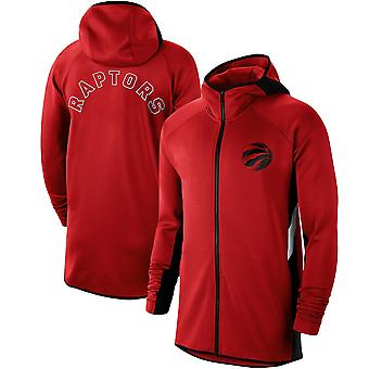 Toronto Raptors Showtime Therma Flex Performance Full Hoodie Top WY124