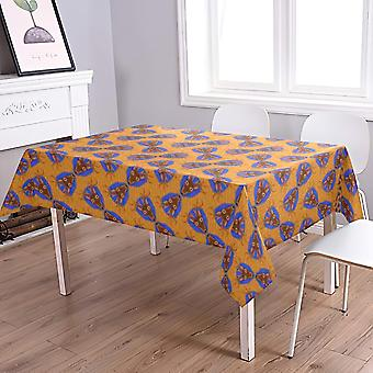 Water-proof Art Print Table Cover