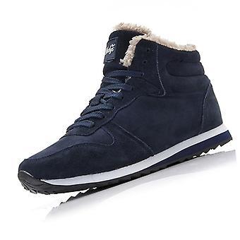 أحذية رجال، الكاحل الدافئ، أحذية جلدية، أحذية رياضية شتوية