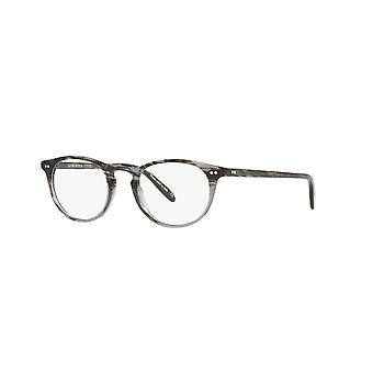 Oliver Peoples Riley-R OV5004 1002 Gestreifte graue Brille
