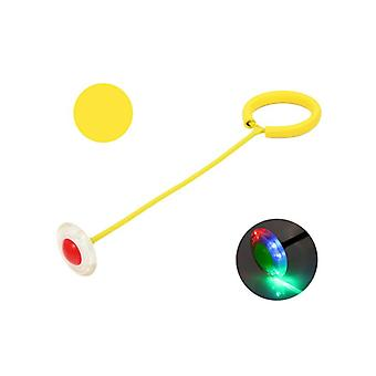 Skip Ball Toy With Led Lighting Yellow