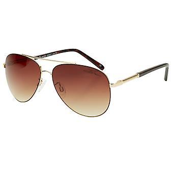 كتل الكثبان الرملية 2 النظارات الشمسية - الذهب / براون تخرج