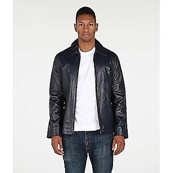 Mens Leather Jacket Lambskin