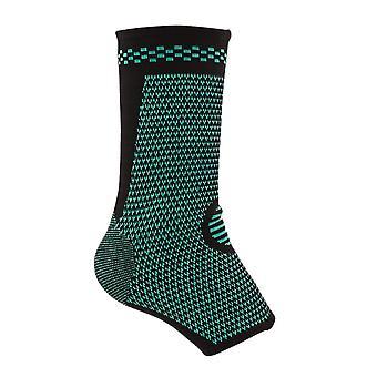 XL tamaño negro algodón látex Spandex presión de punto muñeca deportes protector de tobillo