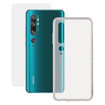 Tempered Glass Mobile Screen Protector + Mobile Case Xiaomi Mi 10 Contact