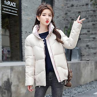 Winter Jacket, Stand-callor Coat, Women Jackets, Warm Clothing Casual Parkas