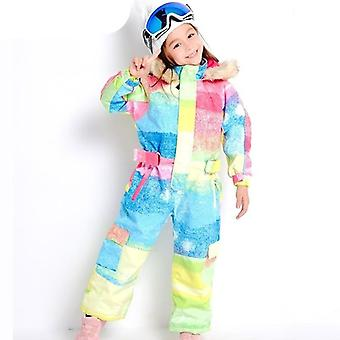 Dětské outdoorové sporty - nepromokavé lyžařské kombinézy s kapucí