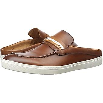 Driver Club USA Mens Leather Made in Brazil Florida Penny Slide Sandal