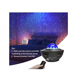 Night Light Projector Galaxy Projector Star Projector Led Nebula Cloud With Bluetooth Music Speaker For Baby